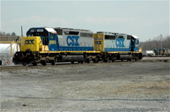CSX in                 Brunswick MD